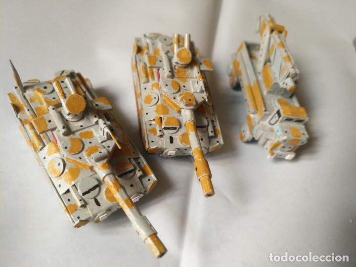 Maquetas: 3 maquetas hechas a mano militar tanques y camion para realizar dioramas guerra militaria leer - Foto 18 - 141884694