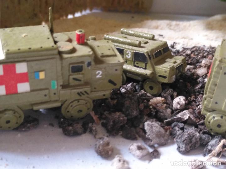 Maquetas: maquetas hechas a mano militar camiones remolques cruz roja realizar dioramas guerra militaria leer - Foto 3 - 141886822
