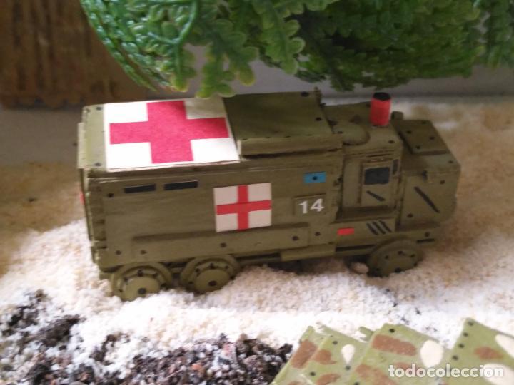 Maquetas: maquetas hechas a mano militar camiones remolques cruz roja realizar dioramas guerra militaria leer - Foto 5 - 141886822