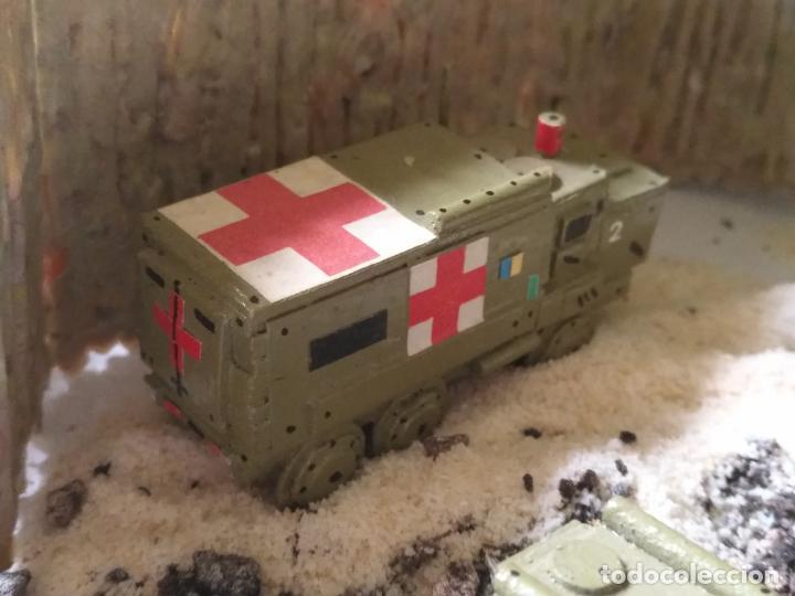 Maquetas: maquetas hechas a mano militar camiones remolques cruz roja realizar dioramas guerra militaria leer - Foto 7 - 141886822