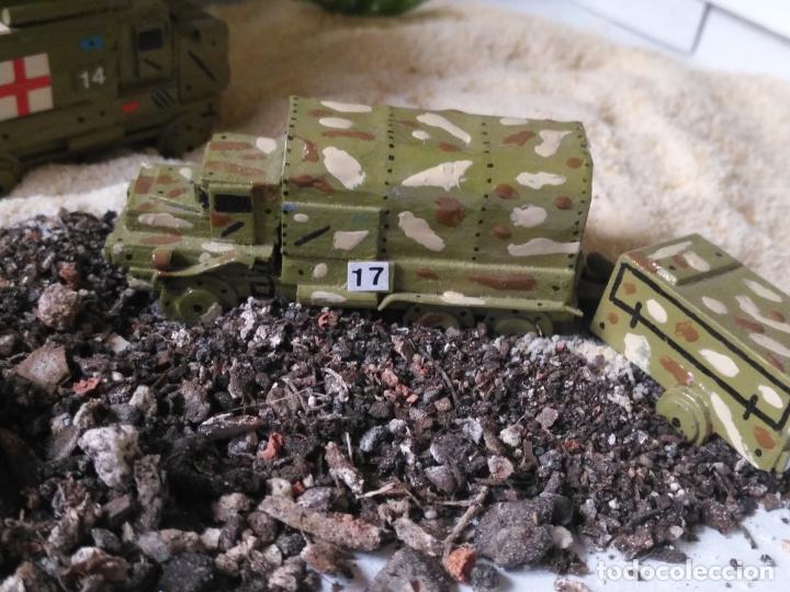 Maquetas: maquetas hechas a mano militar camiones remolques cruz roja realizar dioramas guerra militaria leer - Foto 9 - 141886822