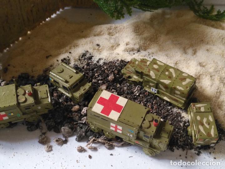 Maquetas: maquetas hechas a mano militar camiones remolques cruz roja realizar dioramas guerra militaria leer - Foto 10 - 141886822