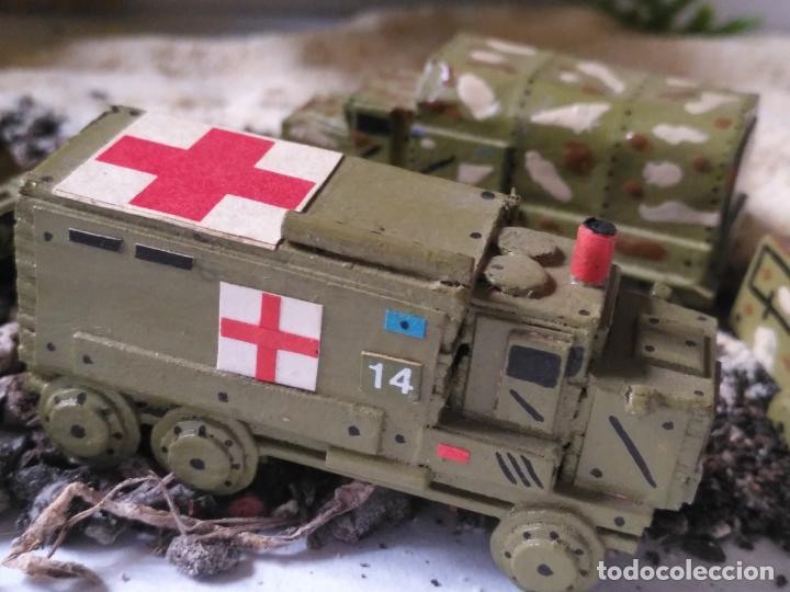 Maquetas: maquetas hechas a mano militar camiones remolques cruz roja realizar dioramas guerra militaria leer - Foto 11 - 141886822