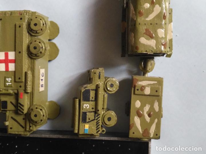 Maquetas: maquetas hechas a mano militar camiones remolques cruz roja realizar dioramas guerra militaria leer - Foto 13 - 141886822