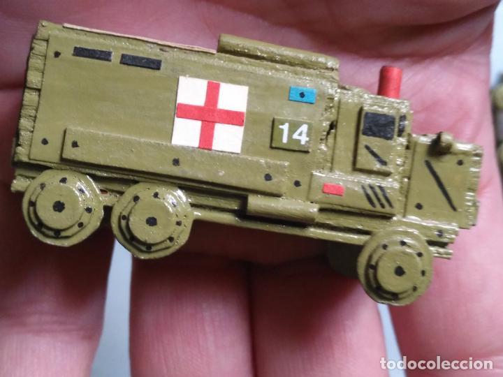 Maquetas: maquetas hechas a mano militar camiones remolques cruz roja realizar dioramas guerra militaria leer - Foto 23 - 141886822