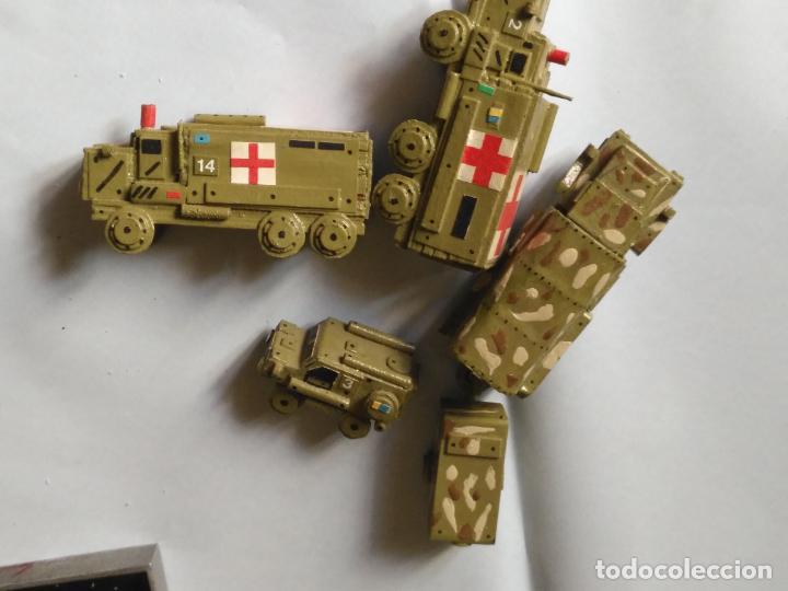 Maquetas: maquetas hechas a mano militar camiones remolques cruz roja realizar dioramas guerra militaria leer - Foto 28 - 141886822