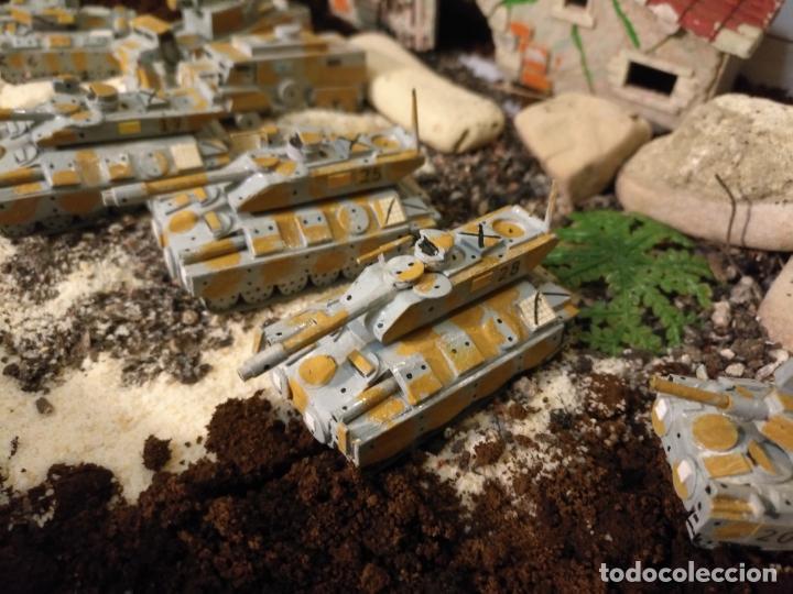 Maquetas: 9 maquetas hechas a mano militar camiones TANQUES ETC realizar dioramas guerra militaria leer - Foto 15 - 141936506