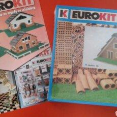 Maquetas: CONSTRUCCIONES DE OBRA EN MINIATURA MODELO 101.EUROKIT 90S.NUEVO EN CAJA RETRACTILADA FÁBRICA.. Lote 141949286