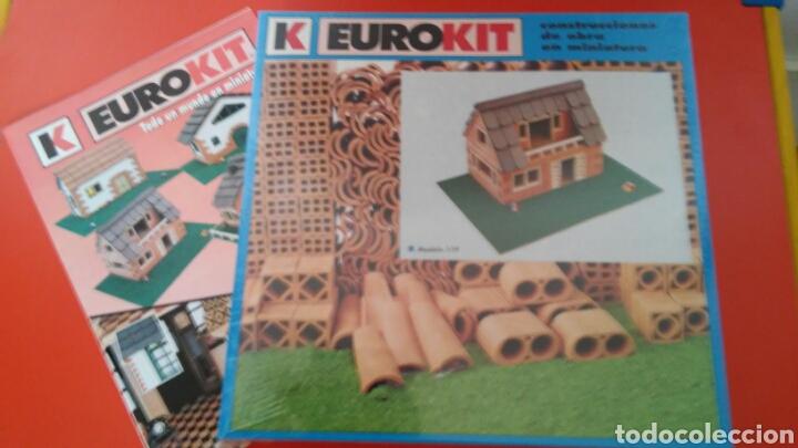 CONSTRUCCIONES DE OBRA EN MINIATURA MODELO 119.EUROKIT 90S.NUEVO EN CAJA RETRACTILADA FÁBRICA. (Juguetes - Modelismo y Radiocontrol - Maquetas - Construcciones)