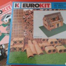 Macchiette: CONSTRUCCIONES DE OBRA EN MINIATURA MODELO 119.EUROKIT 90S.NUEVO EN CAJA RETRACTILADA FÁBRICA.. Lote 141951584