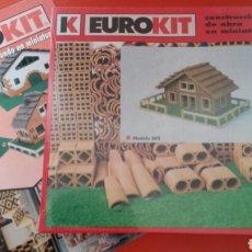 Macchiette: CONSTRUCCIONES DE OBRA EN MINIATURA MODELO 202.EUROKIT 90S.NUEVO EN CAJA RETRACTILADA FÁBRICA.. Lote 141952929