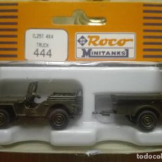 Maquetas: JEEP WILLYS MB , MINITANKS REF. 444 ,ESCALA 1/87. Lote 208407695
