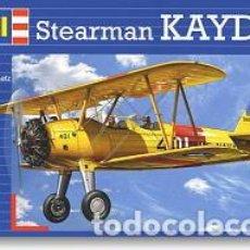 Maquettes: MAQUETA DEL ENTRENADOR BÁSICO STEARMAN KAYDET PT-17 DE REVELL A 1/72. Lote 142298950