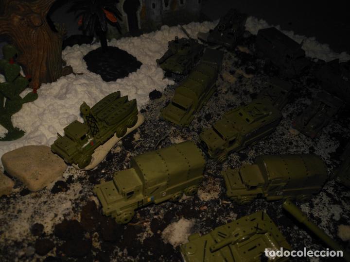Maquetas: LOTE DE MAQUETAS MILITARES PARA MONTAR DIORAMA . TANQUES CAMIONES GRUAS GUERRA .. VER FOTOS - Foto 26 - 142391998