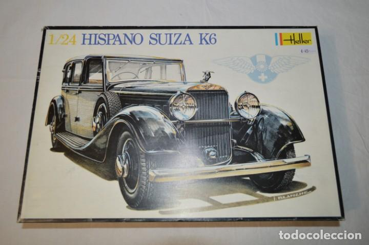Modellino Auto Hispano Suiza K6 Scala 1:24