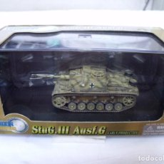 Maquetas: DRAGON ARMOR 1/72 STUG. III AUSF.G EARLY PRODUCTION PZ.GREN.DIV. GROSSDEUTSCHLAND 1943 REF. 60304. Lote 142653806