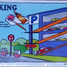 Maquetas: PARKING PARA COLOREAR Y MONTAR EN CARTÓN ONDULADO Y TROQUELADO. Lote 142691238