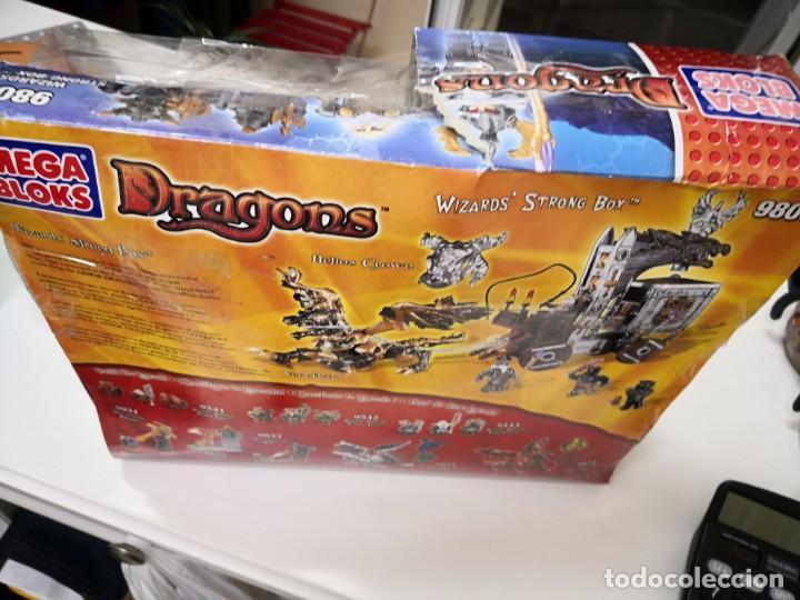Maquetas: Mega Bloks Dragons Carreta Con 4 FIGURAS sin uso. Caja defectuosa. Wizards modelo 9806 - Foto 8 - 142924390