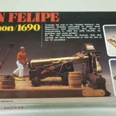 Maquetas: J-SAN FELIPE CANNON 1690 1:30 ARTESANIA LATINA NEW OLD STOCK 1990S VERY RARE!!!. Lote 143611306