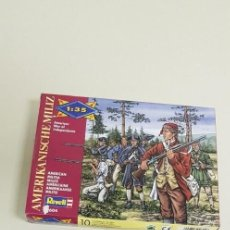 Maquetas: J- AMERICAN WAR OF INDEPENDENCE 1:35 AMERICAN MILITIA REVELL 02604 1994. Lote 143613978