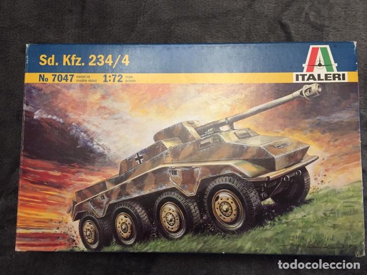 SD.KFZ 234/4 1:72 ITALERI 7047 MAQUETA CARRO (Juguetes - Modelismo y Radiocontrol - Maquetas - Militar)