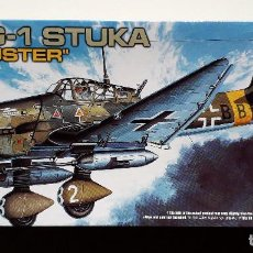 Maquetas: JUNKERS JU 87G-1 STUKA TANKBUSTER 1/72 ACADEMY. Lote 143994130