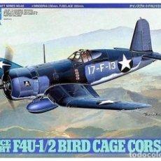 Maquetas: MAQUETA 1/48 - CHANCE VOUGHT F4U-1/2 BIRD CAGE CORSAIR TAMIYA - NR. 61046 - 1:48. Lote 144452010