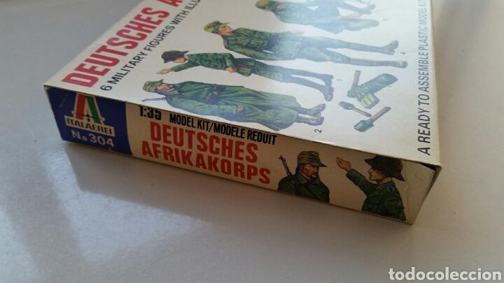 Maquetas: Deutsches Afrikakorps italaerei italeri maqueta figuras 1:35 n°304 - Foto 4 - 144615105