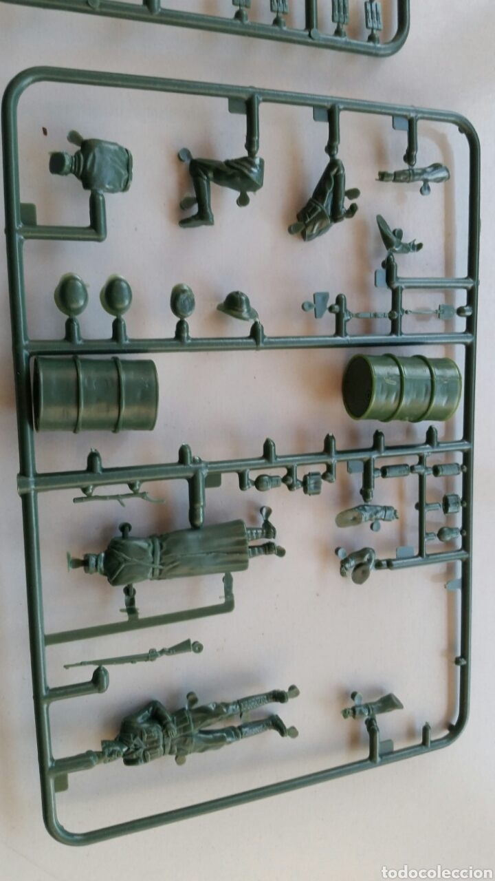 Maquetas: Deutsches Afrikakorps italaerei italeri maqueta figuras 1:35 n°304 - Foto 7 - 144615105