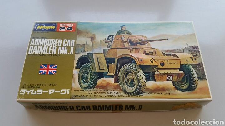 MAQUETA HASEGAWA ESCALA 1:72 ARMOURED CAR DAIMLER MK.II (Juguetes - Modelismo y Radiocontrol - Maquetas - Militar)