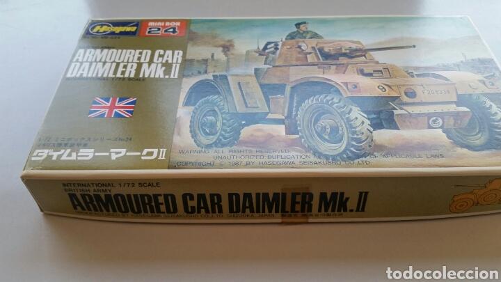Maquetas: Maqueta hasegawa escala 1:72 armoured car Daimler mk.II - Foto 2 - 144620714