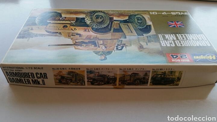 Maquetas: Maqueta hasegawa escala 1:72 armoured car Daimler mk.II - Foto 4 - 144620714