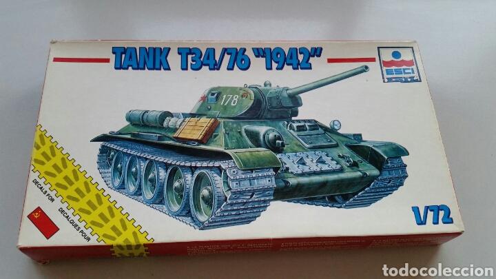 MAQUETA ESCI TANK T34/76 1942 ESCALA 1:72 (Juguetes - Modelismo y Radiocontrol - Maquetas - Militar)