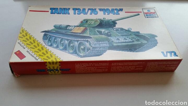 Maquetas: Maqueta esci tank t34/76 1942 escala 1:72 - Foto 2 - 144628780