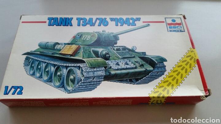 Maquetas: Maqueta esci tank t34/76 1942 escala 1:72 - Foto 5 - 144628780