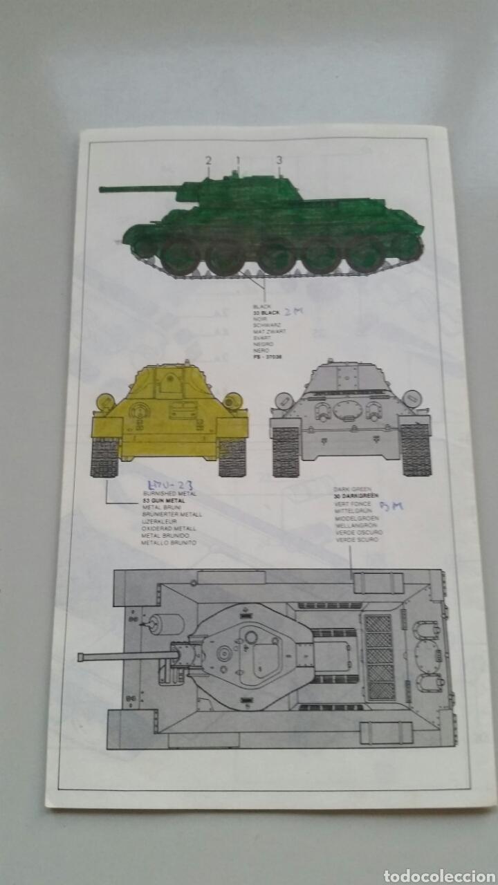 Maquetas: Maqueta esci tank t34/76 1942 escala 1:72 - Foto 8 - 144628780