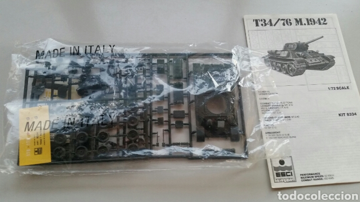 Maquetas: Maqueta esci tank t34/76 1942 escala 1:72 - Foto 9 - 144628780