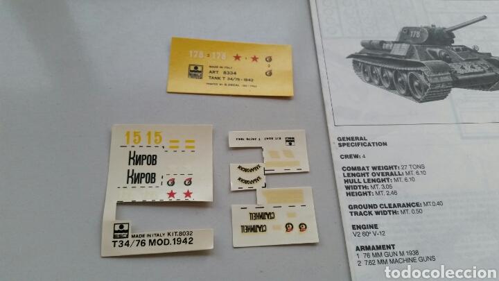 Maquetas: Maqueta esci tank t34/76 1942 escala 1:72 - Foto 10 - 144628780