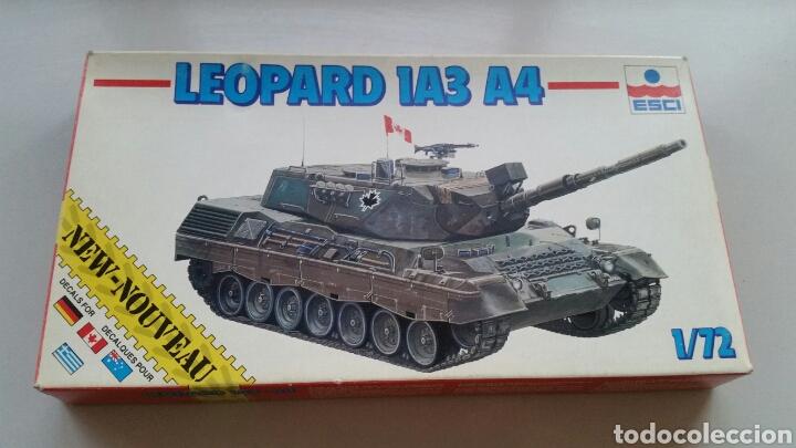MAQUETA CARRO TANQUE ESCI TANK LEOPARD 1A3 A4 ESCALA 1:72 (Juguetes - Modelismo y Radiocontrol - Maquetas - Militar)