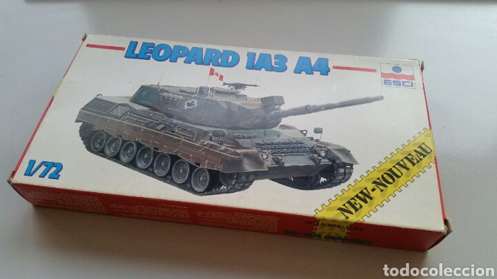 Maquetas: Maqueta carro tanque esci tank leopard 1a3 a4 escala 1:72 - Foto 5 - 144629802