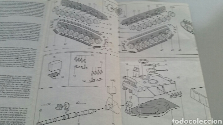 Maquetas: Maqueta carro tanque esci tank leopard 1a3 a4 escala 1:72 - Foto 8 - 144629802