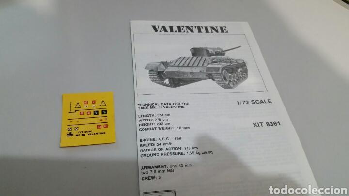 Maquetas: Maqueta tanque mk 3 valentine esci ertl escala 1:72 - Foto 6 - 144636373