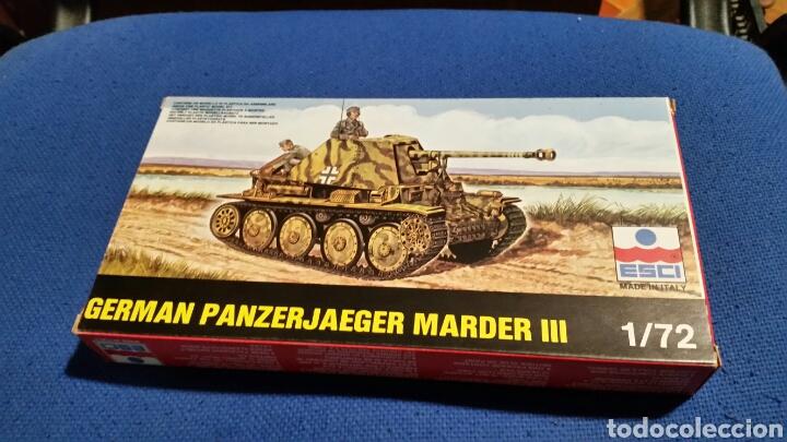 MAQUETA ESCI GERMAN PANZERJAEGER MARDER III ESCALA 1:72 (Juguetes - Modelismo y Radiocontrol - Maquetas - Militar)