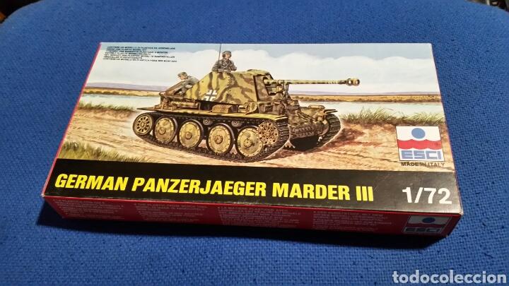 Maquetas: Maqueta esci german panzerjaeger marder III escala 1:72 - Foto 2 - 144638384