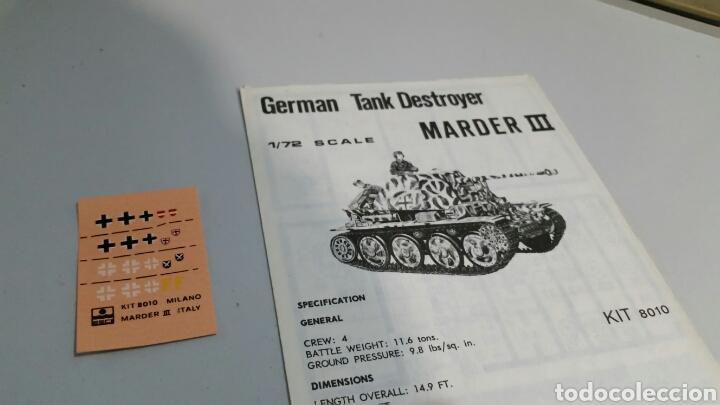 Maquetas: Maqueta esci german panzerjaeger marder III escala 1:72 - Foto 4 - 144638384