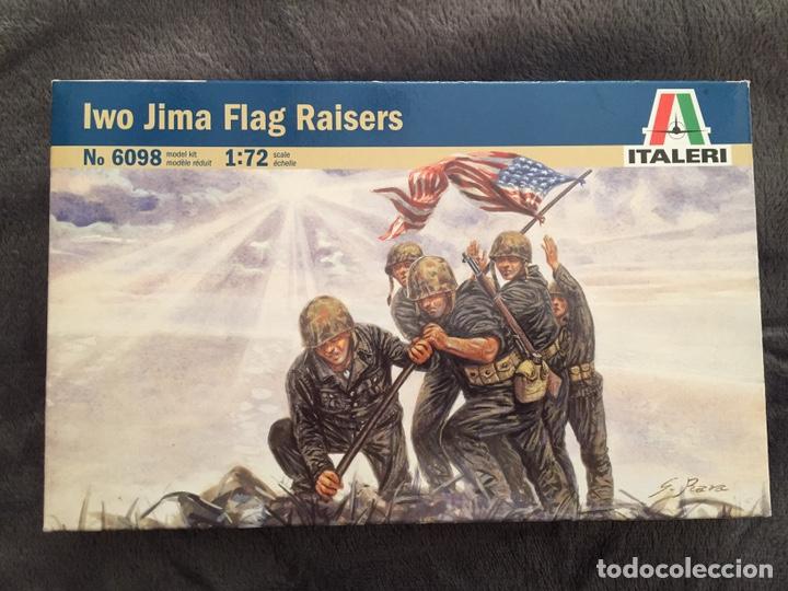 IWO JIMA FLAG RAISERS 1:72 ITALERI 6098 MAQUETA FIGURAS DIORAMA (Juguetes - Modelismo y Radiocontrol - Maquetas - Militar)