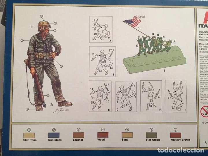Maquetas: IWO JIMA Flag Raisers 1:72 ITALERI 6098 maqueta figuras diorama - Foto 2 - 144717164