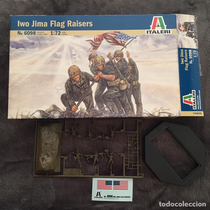 Maquetas: IWO JIMA Flag Raisers 1:72 ITALERI 6098 maqueta figuras diorama - Foto 3 - 144717164