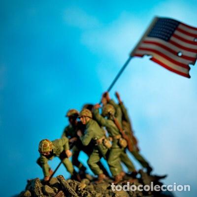Maquetas: IWO JIMA Flag Raisers 1:72 ITALERI 6098 maqueta figuras diorama - Foto 5 - 144717164