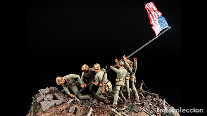 Maquetas: IWO JIMA Flag Raisers 1:72 ITALERI 6098 maqueta figuras diorama - Foto 6 - 144717164